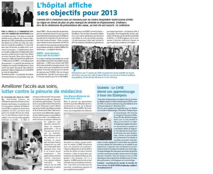 Dans La Presse Ch Sud Essonne
